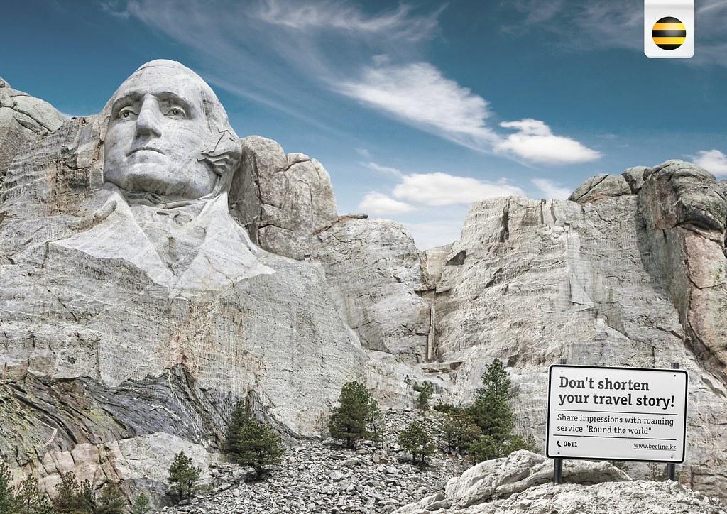 Beeline Kazakhstan - Mont Rushmore