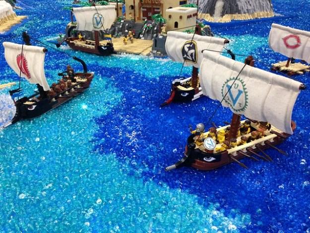 Greek Fleet by Matt Rowntree 7/55