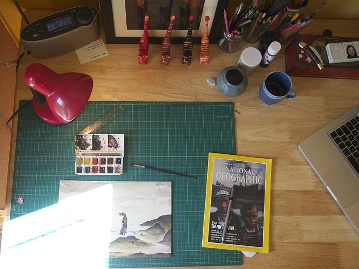 Sam Caldwell ECA Artist Studio
