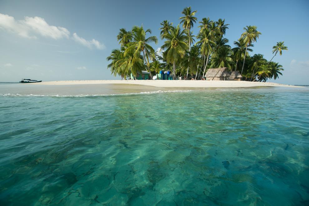 El archipiélago de San Blas es el hogar de los indios Guna, que forman parte de la comarca Guna Yala a lo largo de la costa caribeña de Panamá. (Tetsu Espósito)