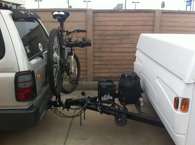 Pop Up C&er Bike Rack Hitch Cosmecol. SaveEnlarge & Pop Up Bike Storage - Listitdallas