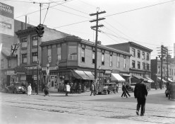 Southeast corner of Hastings Street and Columbia, 1931 (COV Archives – Str N9)