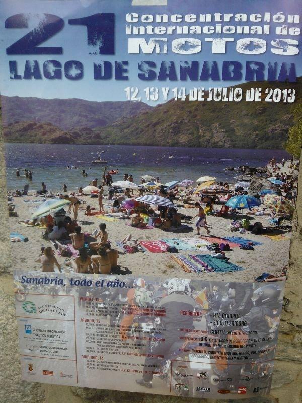 21 Concentración Internacional de Motos Lago de Sanabria - Zamora