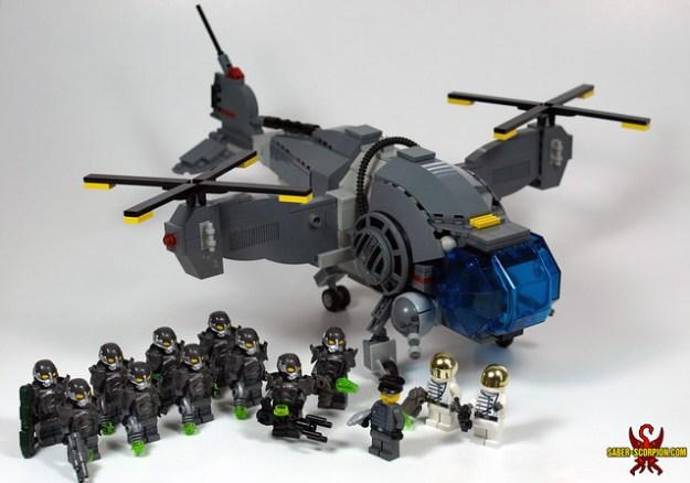 LEGO Fallout Enclave Vertibird