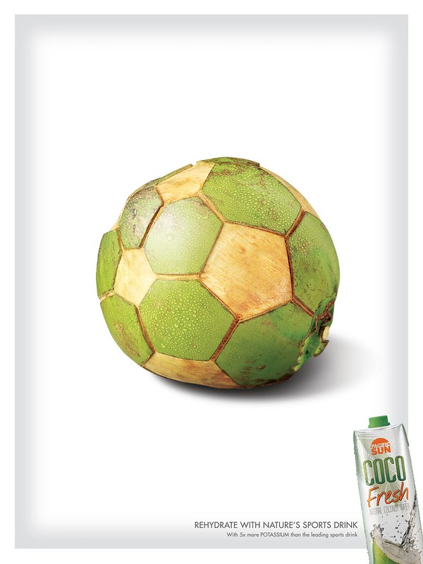 Coco Fresh - Soccer Ball