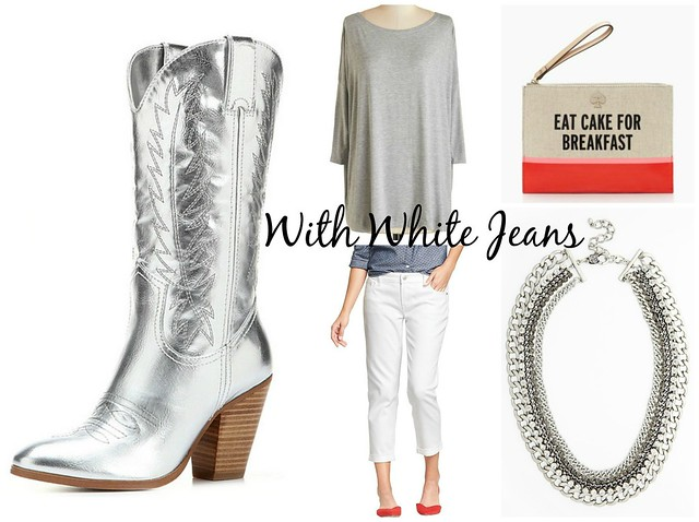 How To Wear Silver Cowboy Boots Head To Toe Chic