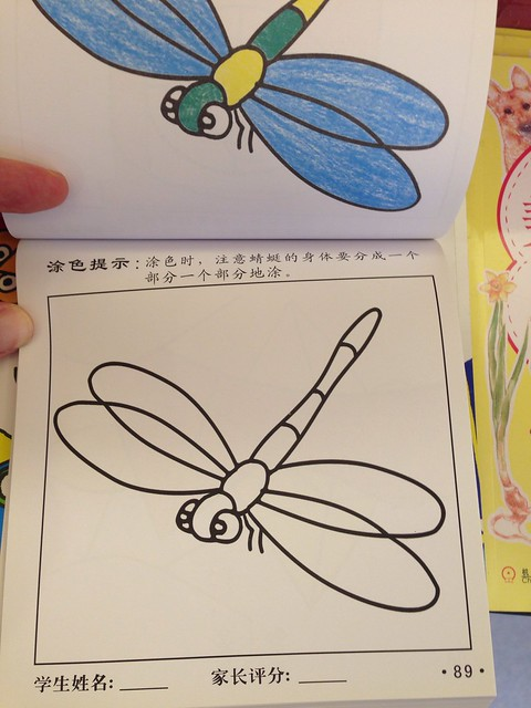 Chinese Coloring Book