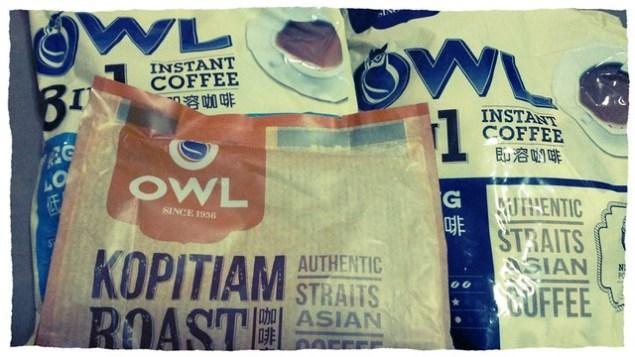 OWL coffee packs