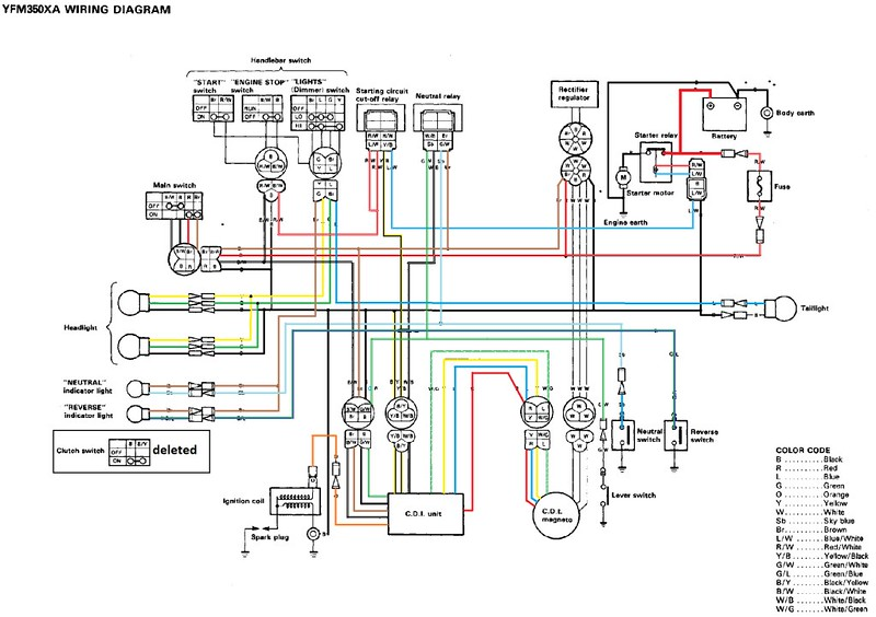 2000 Yamaha Warrior Wiring Diagram Online Wiring Diagram