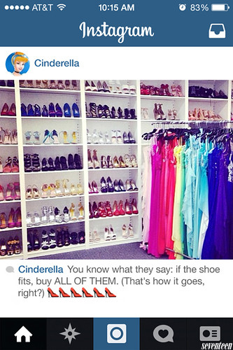 INSTAGRAM DISNEYPRINCESS CINDERELLA