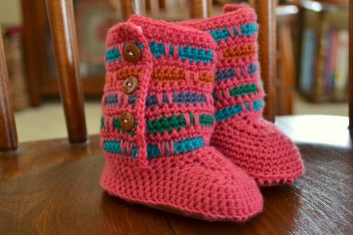 FO: Popsicle Booties