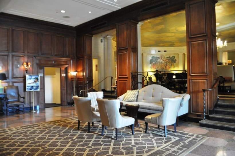 Lobby of Hotel Roanoke, Va.
