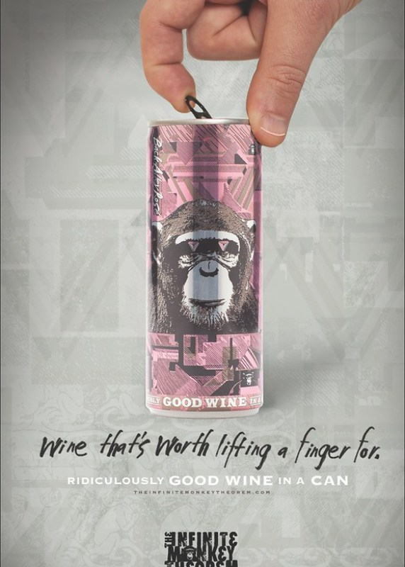 The Infinite Monkey Theorem - Finger