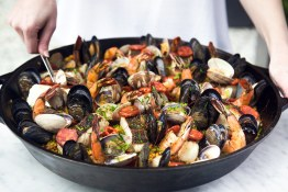 BLVD_EasterBrunch_Paella_CreditLeilaKwok