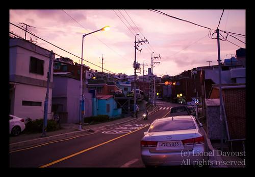 Sunset in Pusan