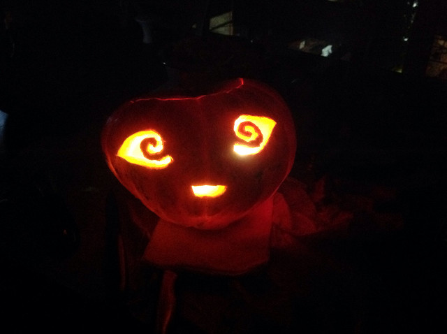 how to make a jack o lantern without a pumpkin