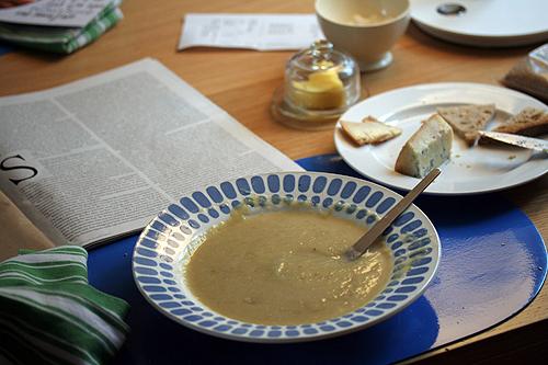soup dinnertable