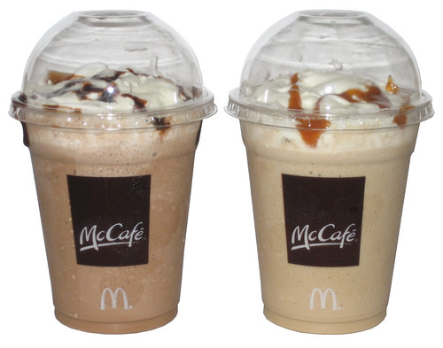 mcdonalds mccafé takes aim at starbucks Mccafé® coffee treat yourself to a cup of our simple, satisfying morning coffee at mcdonald's, we take great care to serve quality.