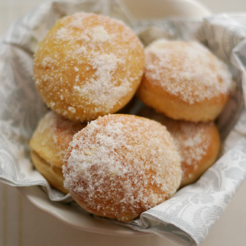lemon doughnuts