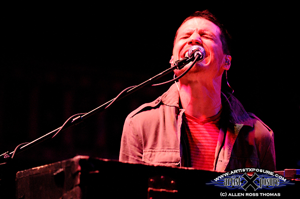 Paul Meany performs live with Mutemath