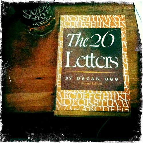 The 26 Letters by Oscar Ogg