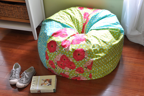 Check Out This Cool Bean Bag Chair By Joanna At Stardust Shoes. I Never  Thought Iu0027d Say This About A Bean Bag Chair, But I Think This One Is So Fun.