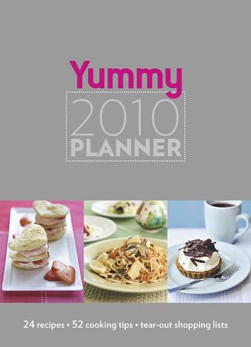 YUMMY 2010 planner cover