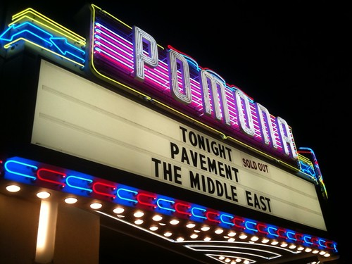 pavement in ponoma marquee