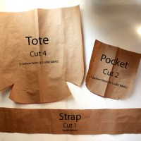 Free Sewing Pattern #1 - Reversible Tote Bag