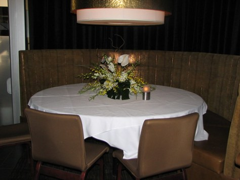 Glowbal's dining room