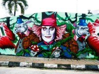 Alice in Wonderland Graffiti - a photo on Flickriver
