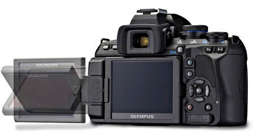 Olympus E-620 back