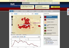 Ushahidi - Crowdsourced mapping for Haiti