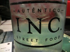 inc street food - water logo by foodiebuddha