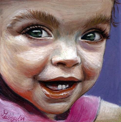 Madeline, watercolor