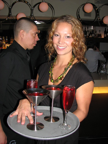 Martinis and Sparkling wine sippers