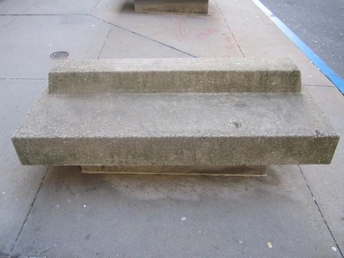 Brutalist Bench in Boston