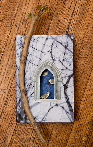 Altered Book- Little birds