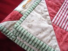 *hear* stripey binding fabrics