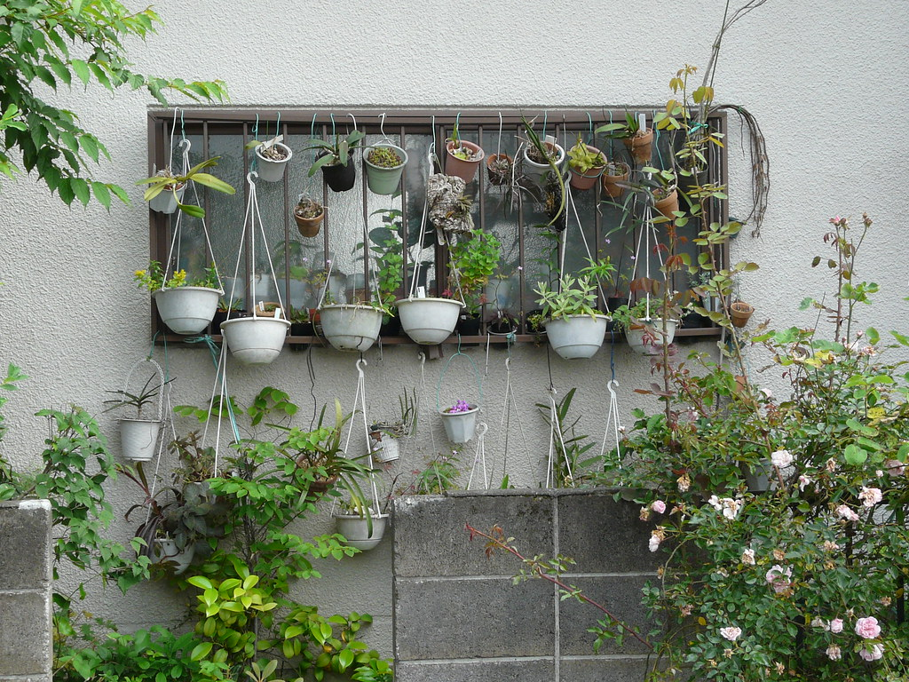 Verticaal Tuinieren Ikea Hanging Garden In Pots And Wire Fixes