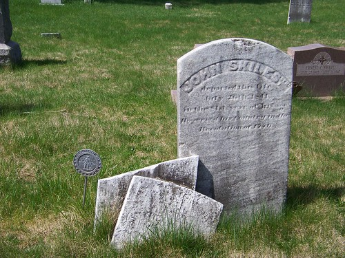 Revolutionary War veterans at Old Carlisle Cemetery (5/6)