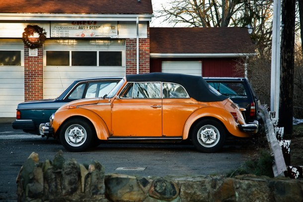 Punch Buggy, Orange!