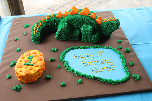 3D Dinosaur Cake Heather Drive