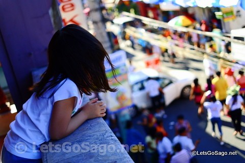 Girl Watching the Pahiyas Parade