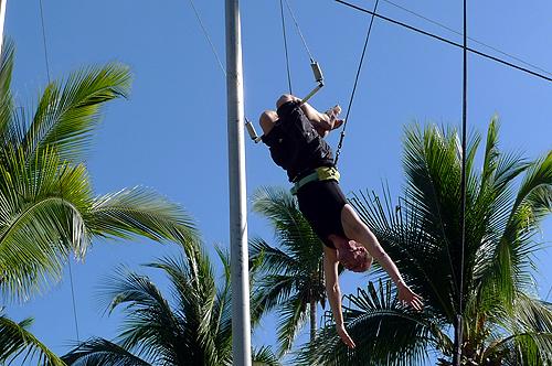 me on trapeze