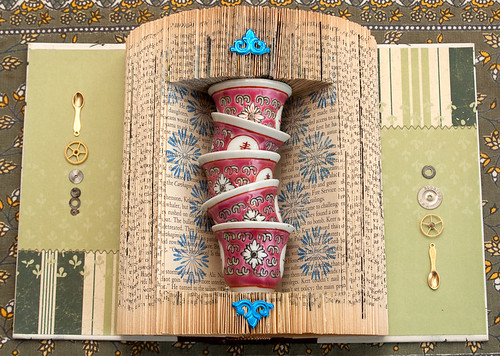Altered Book: Living Well, Sip by Sip