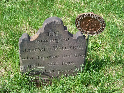 Revolutionary War veterans at Old Carlisle Cemetery (4/6)