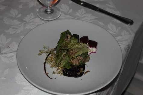 Mixed Greens with Beets