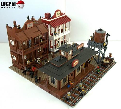 LEGO Western Town