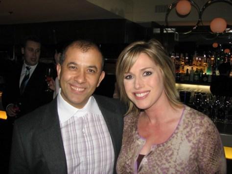 Owner Emad Yacoub and BT's Dawn Chubai